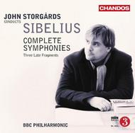 Sibelius - Complete Symphonies, Three Late Fragments | Chandos CHAN108093