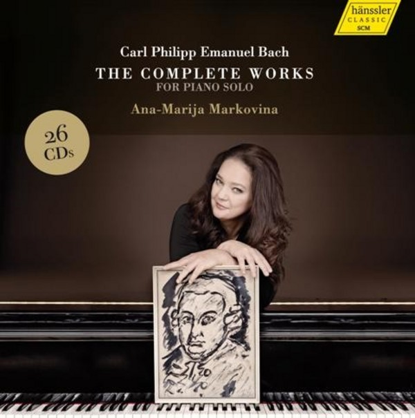 CPE Bach - The Complete Works for Piano Solo | Haenssler 98003