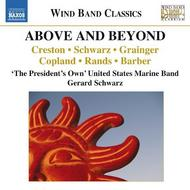 Above and Beyond: Music for Wind Band | Naxos - Wind Band Classics 8573121