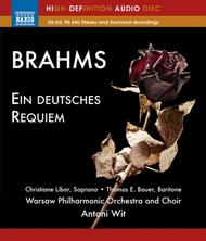 Brahms - Ein Deutsches Requiem (Blu-ray Audio)