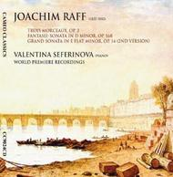 Raff - Piano Sonatas and Character Pieces | Cameo Classics CC9024CD