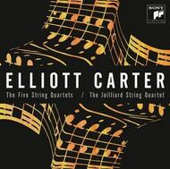 Elliott Carter - The Five String Quartets | Sony 88843033832