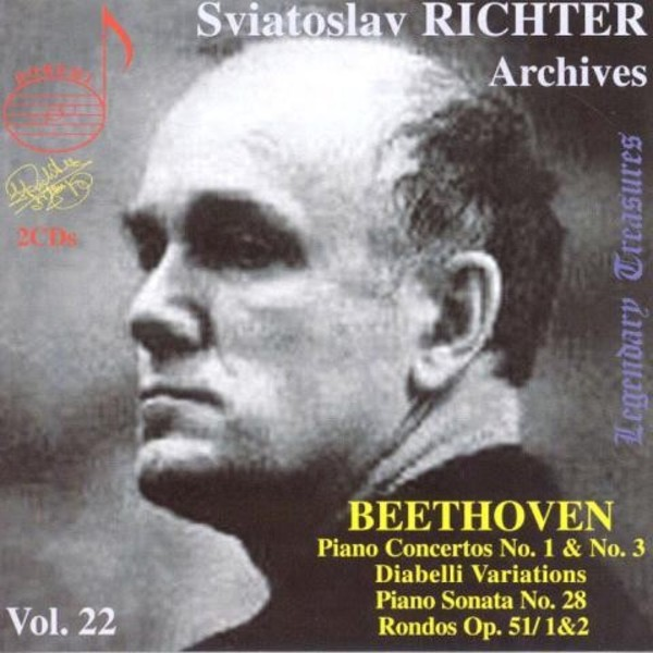 Sviatoslav Richter Archives Vol.22 | Doremi DHR802223