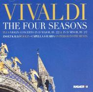 Vivaldi - The Four Seasons, Violin Concertos | Hungaroton HCD32729