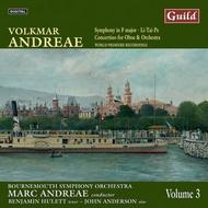 Volkmar Andreae - Symphony in F major, Li-Tai-Pe, Concertino | Guild GMCD7400