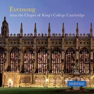 Evensong from the Chapel of King's College Cambridge | Heritage HTGCD267