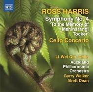 Ross Harris - Symphony No.4, Cello Concerto | Naxos 8573044