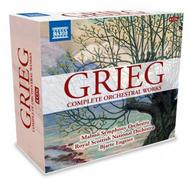 Grieg - Complete Orchestral Works | Naxos 8508015