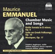 Maurice Emmanuel - Chamber Music and Songs | Toccata Classics TOCC0231