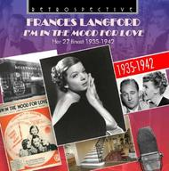 Frances Langford: I'm in the Mood for Love (27 finest 1935-42) | Retrospective RTR4245