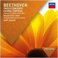 Beethoven - Triple Concerto, Choral Fantasia, Overtures | Decca - Virtuoso 4786962
