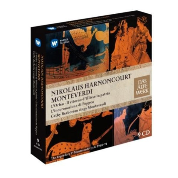 Nikolaus Harnoncourt conducts Monteverdi: The legendary first cycle (1968-74) | Warner 2564631482