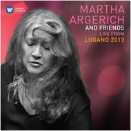 Martha Argerich and Friends: Live from Lugano 2013 | Warner 2564631220