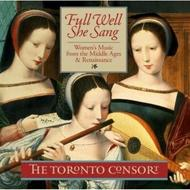 Full Well She Sang - Women's Music from the Middle Ages & Renaissance | Marquis MAR81445