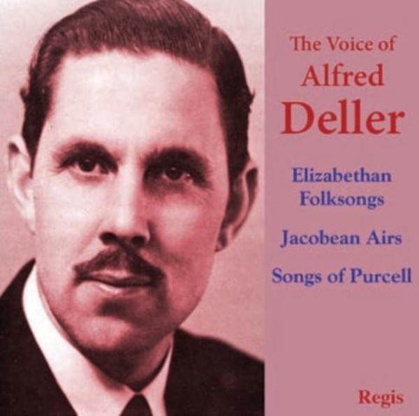 The Voice of Alfred Deller | Regis RRC1419