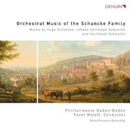 Orchestral Music of the Schuncke Family | Genuin GEN13280