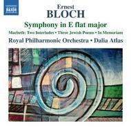 Bloch - Symphony in E flat major, Orchestral Works | Naxos 8573290