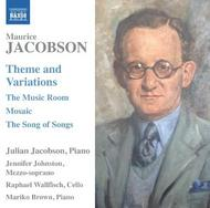 Maurice Jacobson - Theme & Variations, The Music Room, etc | Naxos 8571351
