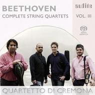Beethoven - Complete String Quartets Vol.3 | Audite AUDITE92682