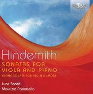 Hindemith - Sonatas for Viola and Piano | Brilliant Classics 94782BR