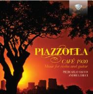 Piazzolla - Cafe 1930: Music for Violin and Guitar | Brilliant Classics 94896