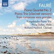 Faure - Chamber Works | Naxos 8573223