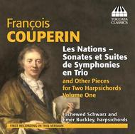 F Couperin - Les Nations, Pieces for Two Harpsichords Vol.1 | Toccata Classics TOCC0203