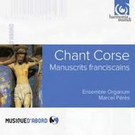Chant Corse: Manuscrits franciscains