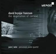 David Brynjar Franzson - The Negotiation of Context