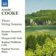 Arnold Cooke - Three String Sonatas | Naxos 8571362