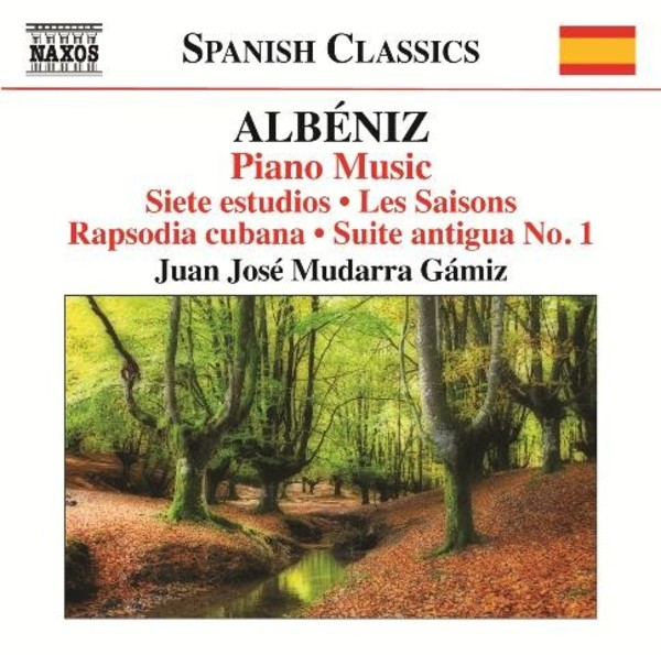Albeniz - Piano Music Vol.5 | Naxos - Spanish Classics 8573293