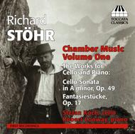 Richard Stohr - Chamber Music Vol.1: Works for Cello and Piano | Toccata Classics TOCC0210