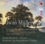Iwan Muller - Concertos for Clarinet and Orchestra, Duo concertante | MDG (Dabringhaus und Grimm) MDG9011846