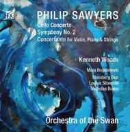Philip Sawyers - Cello Concerto, Symphony No.2, Concertante | Nimbus - Alliance NI6281
