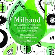 Milhaud - Orchestral Works | Brilliant Classics 94862