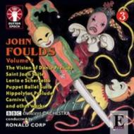 John Foulds Orchestral Music: Volume 4 | Dutton - Epoch CDLX7311