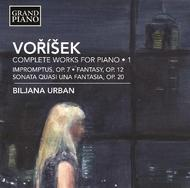 Jan Vaclav Vorisek - Complete Works for Piano Vol.1 | Grand Piano GP670