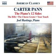 Carter Pann - The Piano's 12 Sides, Piano Works | Naxos - American Classics 8559751