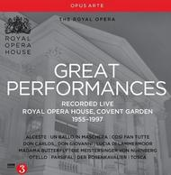 The Royal Opera: Great Performances Collection | Opus Arte OACD9024D