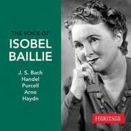 The Voice of Isobel Baillie | Heritage HTGCD273