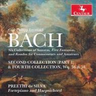 CPE Bach - Keyboard Collections | Centaur Records CRC3288