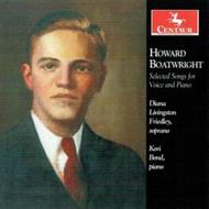 Henry Boatwright - Selected Songs for Voice and Piano | Centaur Records CRC3290