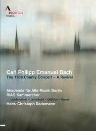 CPE Bach - The 1786 Charity Concert: A Revival | Accentus ACC20320