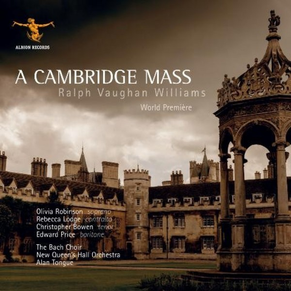 Vaughan Williams - A Cambridge Mass | Albion Records ALBCD020