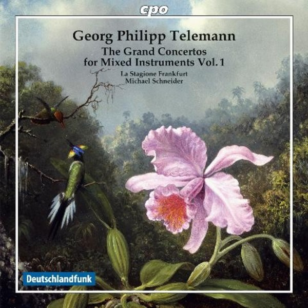 Telemann - The Grand Concertos for Mixed Instruments Vol.1 | CPO 7778592
