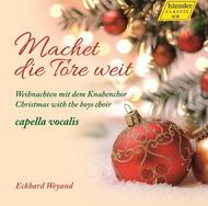 Machet die Tore weit: Christmas with the Boys Choir | Haenssler 98040
