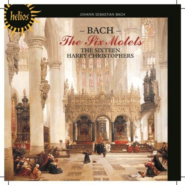J S Bach - The Six Motets | Hyperion - Helios CDH55417
