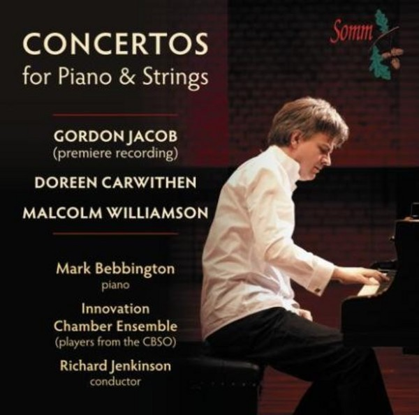 Concertos for Piano and Strings | Somm SOMMCD254