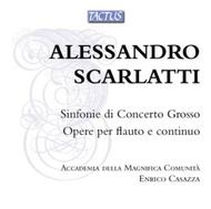 A Scarlatti - Sinfonie di Concerto Grosso, Works for Flute and Continuo | Tactus TB661990