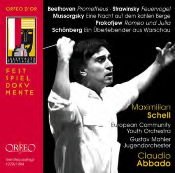 Claudio Abbado conducts Youth Orchestras | Orfeo - Orfeo d'Or C892141